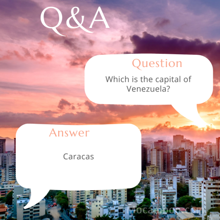 Which is the capital of Venezuela?