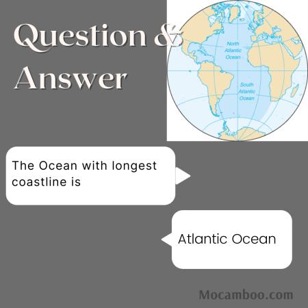 The Ocean with longest coastline is