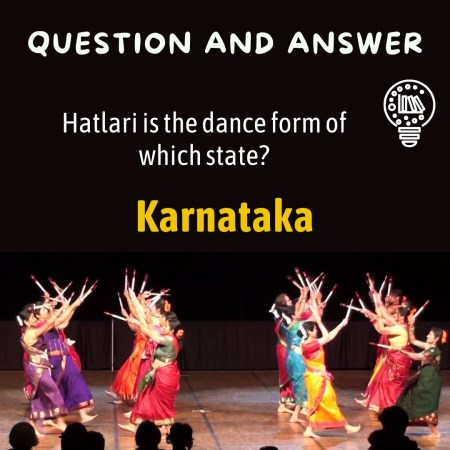 Hatlari is the dance form of which state?