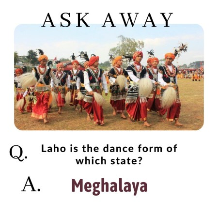 Laho is the dance form of which state?