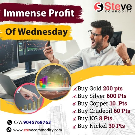 IMMENSE PROFIT OF WEDNESDAY BY:STEVECOMMODITY.COM