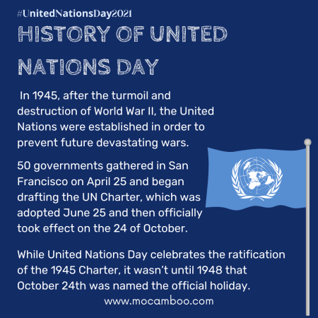 HISTORY OF UNITED NATIONS DAY
