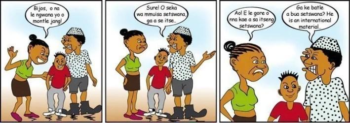 setswana comic
