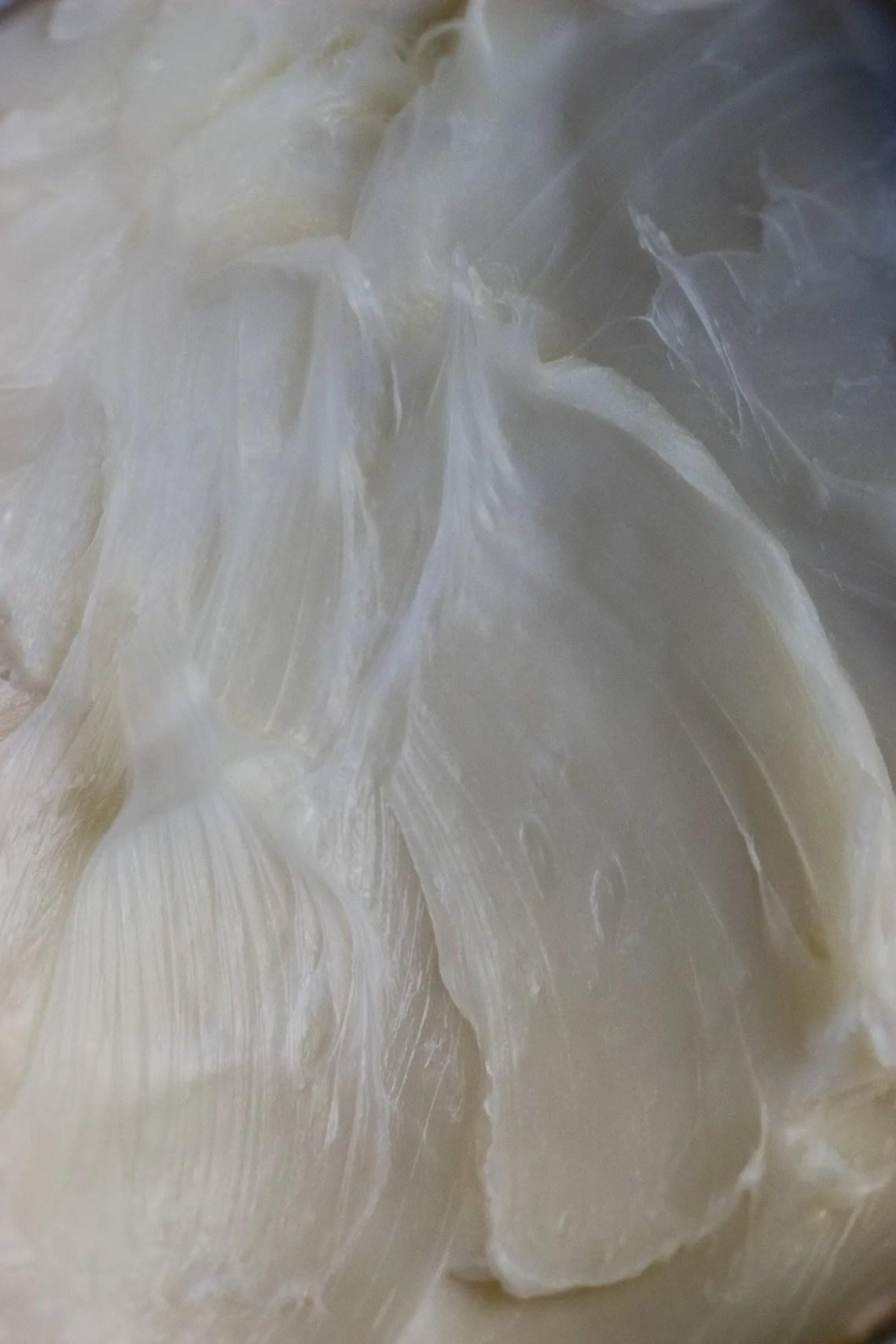 Eu'Genia Shea butter texture up close