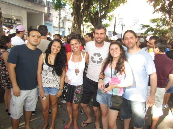 Amigos do Couchsurfing