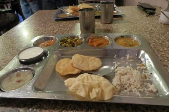 o Tali, prato típico indiano