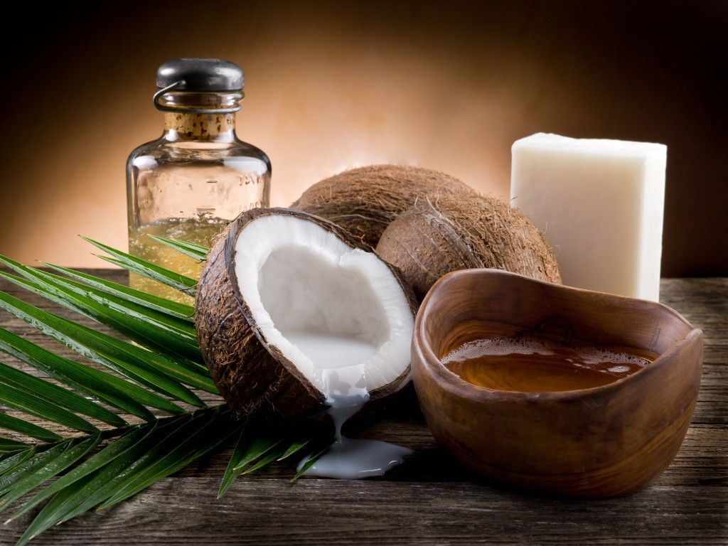 Yo uso aceite de coco, ¿y tú?