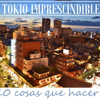 TOKIO IMPRESCINDIBLE: 10 COSAS QUE HACER
