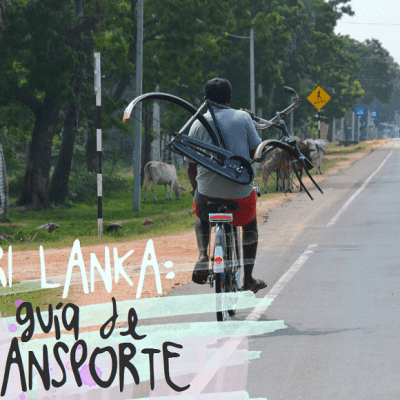 GUÍA DE TRANSPORTE EN SRI LANKA