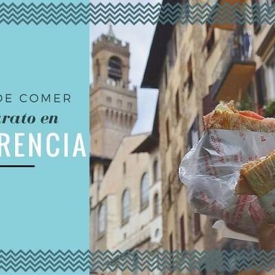 6 RESTAURANTES DONDE COMER BARATO EN FLORENCIA (POR 10€ O MENOS)