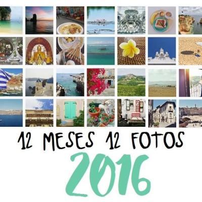 12 MESES 12 FOTOS (RESUMEN DE NUESTRO 2016)