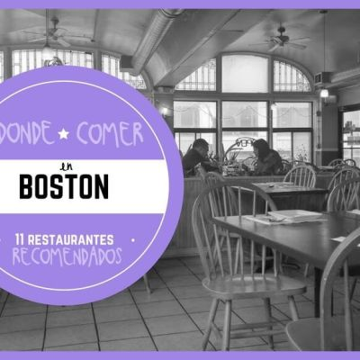 11 RESTAURANTES DONDE COMER EN BOSTON