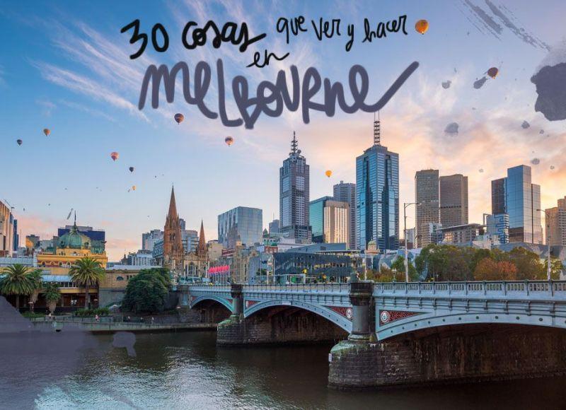 30 COSAS QUE VER Y HACER EN MELBOURNE