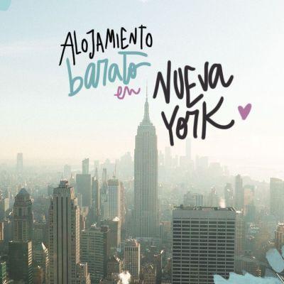 ALOJAMIENTO BARATO EN NUEVA YORK (DÓNDE DORMIR SIN VENDER UN RIÑÓN)