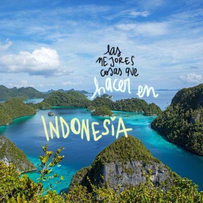 LAS 20 MEJORES COSAS QUE HACER EN INDONESIA