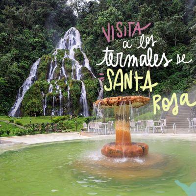 VISITA A LOS TERMALES DE SANTA ROSA DE CABAL, EN COLOMBIA