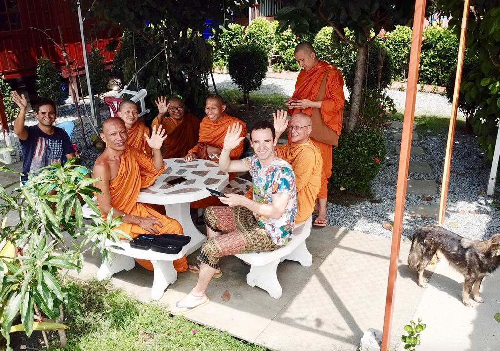 Work Exchange em um Centro Budista na Tailândia