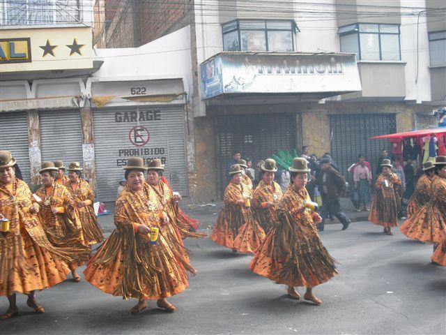 Apresentação folcloríca La Paz - Bolívia