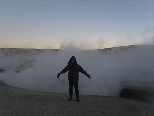 Geysers - Salar de Uyuni Bolívia
