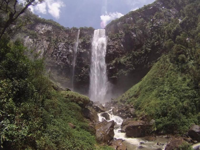 Cachoeiras gigantes - Salto São Francisco,Salto São Sebastião e Salto Mlot  – Prudentópolis,PR - Paraná - Relatos de Viagem - Mochileiros.com