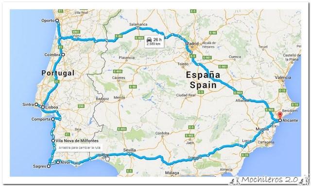 Mochileros 2.0 Road Trip Portugal