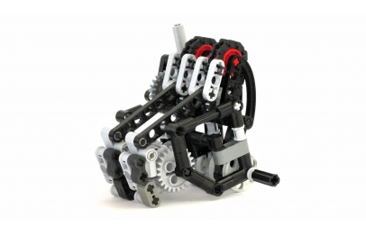 Lego Limited Slip Differential System   MOCHUB Lego Kinetic Transmission