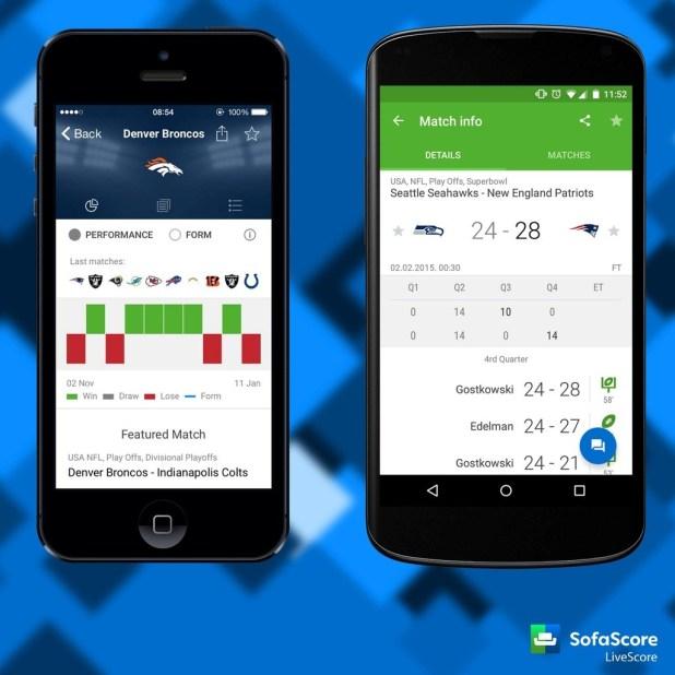 sofa score app
