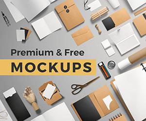 MockupCloud - Premium & Free Mockup Templates