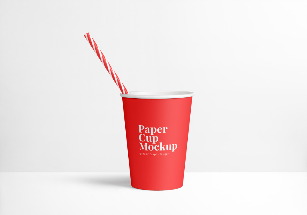 You just have to open the document, put your logo into the smart object and good to go. Paper Cup Mockup Mockup World