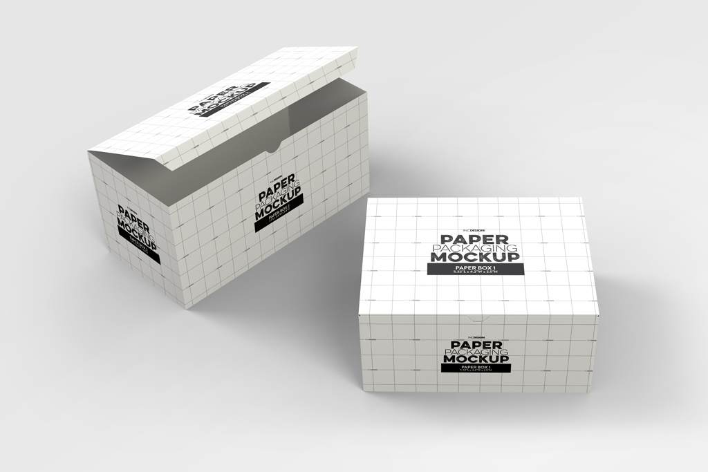 Download Takeout Boxes Mockup | Mockup World