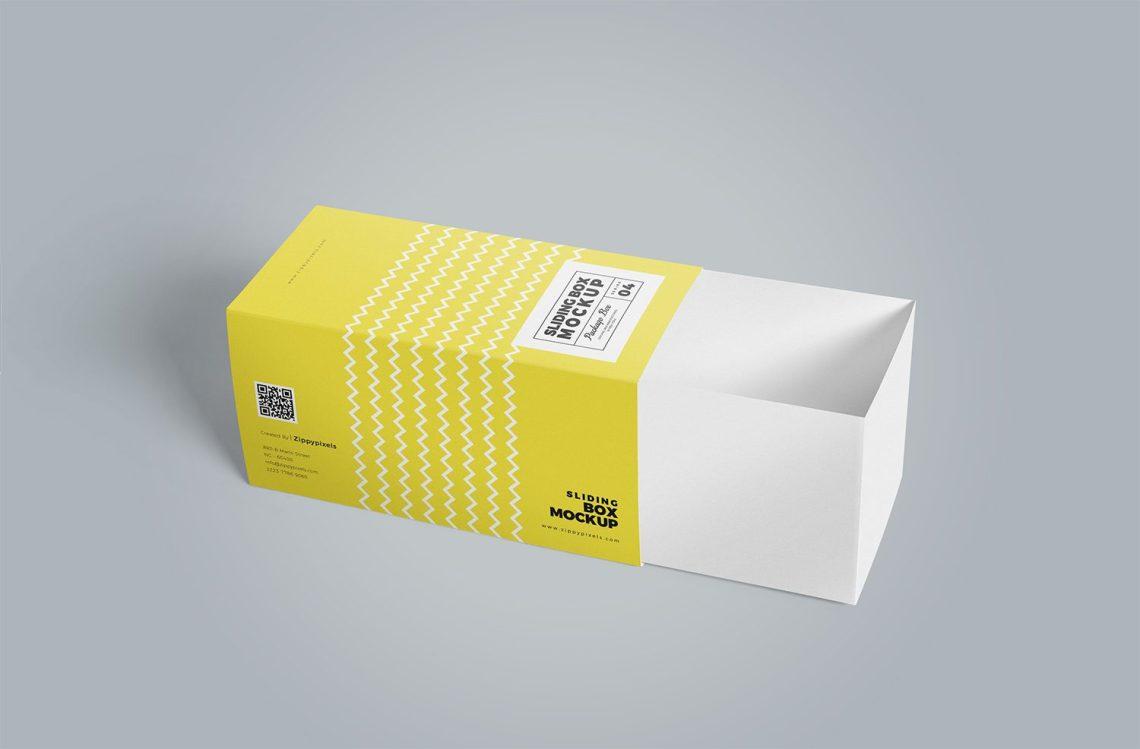 Download 3 Free Cardboard Drawer Box Mockups | Mockup World HQ
