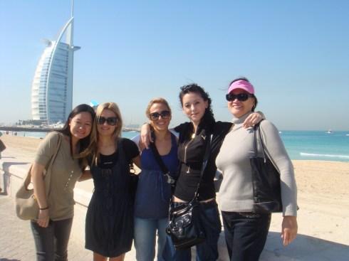 Dubai hotel Burj al Arab Jumeira Beach