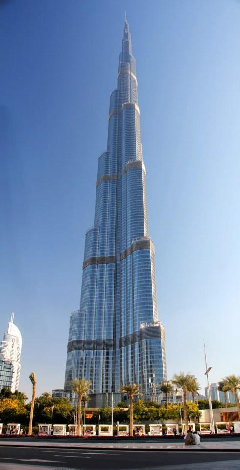 Dubai Burj Khalifa theworld's tallest building