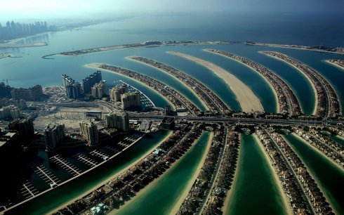 Dubai The Palm island