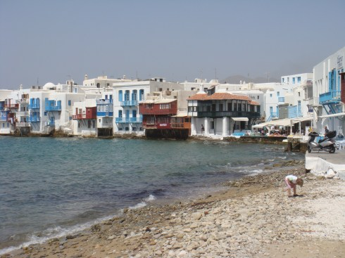 Greek island Mykonos Little Venice