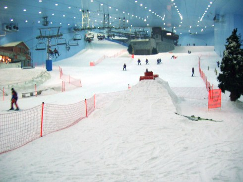 indoor ski Dubai Mall