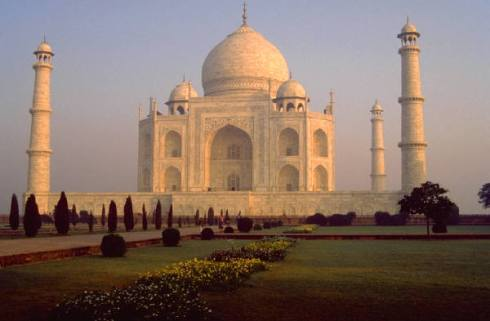 India's Taj Mahal the most beautiful historic building in the world
