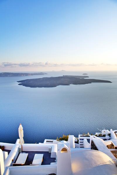 Luxury suites Greek island Santorini