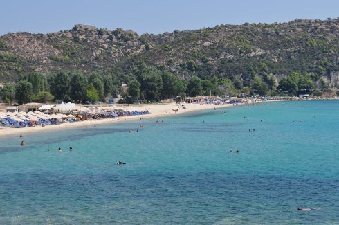 Greek beaches Halkidiki Agios Giannis beach