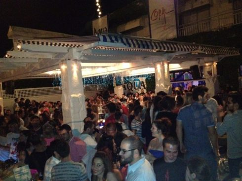 Greece Halkidiki Kallithea nightlife