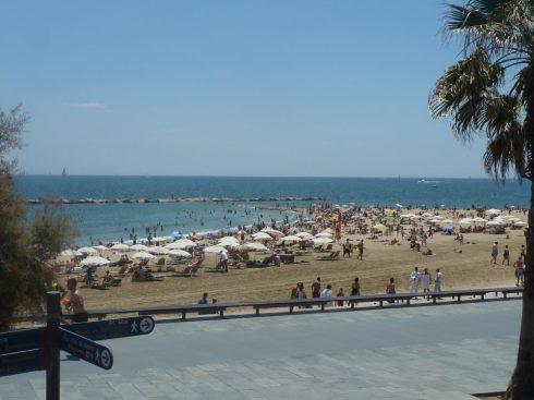 Spain Barcelona beaches