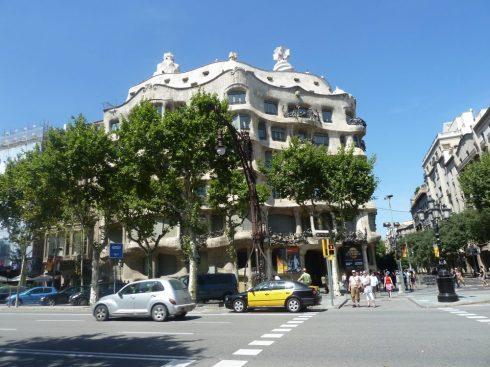 Spain Barcelona Casa Mila