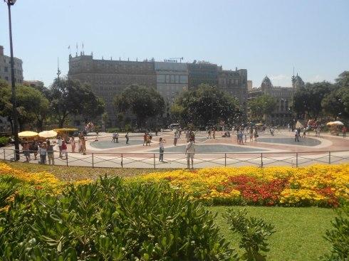 Barcelona Piazza Catalunia