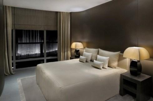 interior of Armani hotel in Burj Khalifa, Dubai