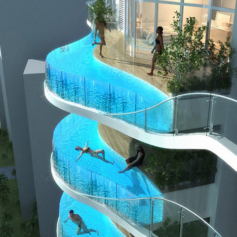 most amazing hotel pools