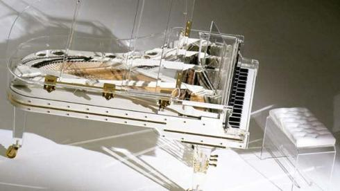 wordl's most expensive Crystal Piano
