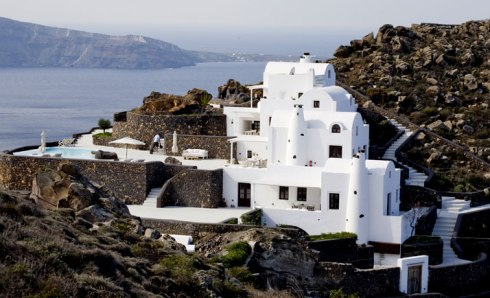Beautiful villa in Santorini Greece