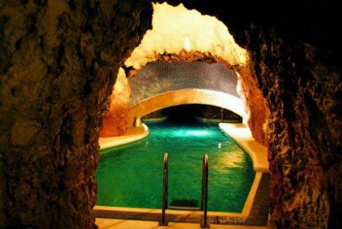 famous spa of MIskolctapolca