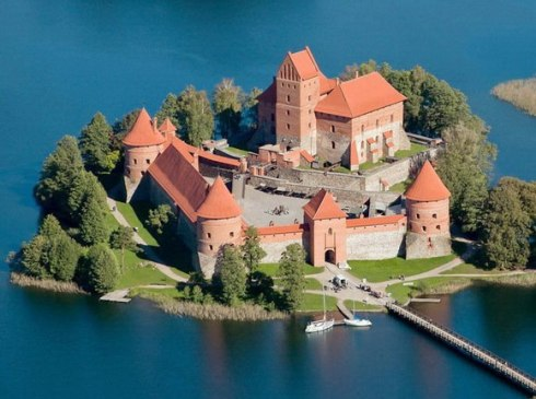 Trakai Island Castle in Lake Galvė, Lithuania 3