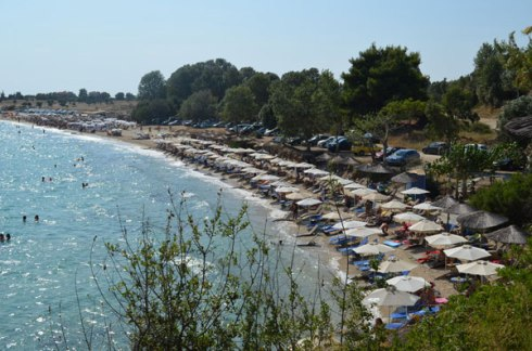 best beaches in halkidiki